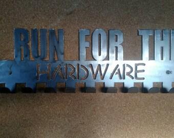 I run for the hardware medal hanger