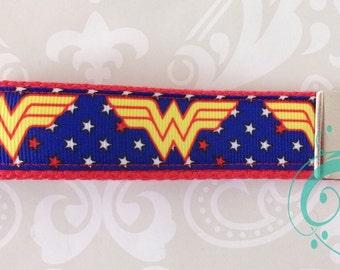 Wonder Woman Inspired Key Fob or Lanyard