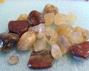 Polished Oregon Agates And Jasper Pacific Ocean Beach Stones