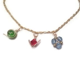 Legend of Zelda Ocarina of time stupid spiritual stone necklace kokiri emerald goron ruby zora Sapphire