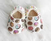 Organic Donut Shoes with Sprinkles! Newborn- Toddler