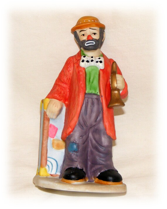 "GREAT INVESTMENT . . . Vintage Emmett Kelly Jr. Clown ""Price Slashed"""