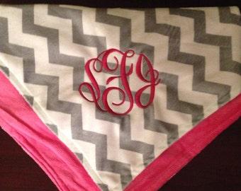 Baby Monogrammed Blankets