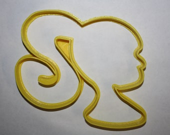 Girl Silhouette Cookie Cutter Girl Cookie Cutter