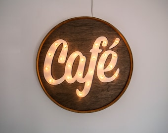 Personalized Coffee Shop Sign Personalized Sign Personalized