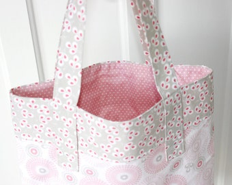 """PDF Pattern Tote """"Ava"""" Lined Bag"""