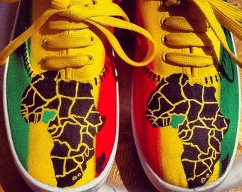"RASTA SHOES ""AFRICA"""