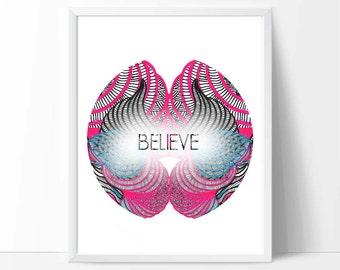 Nursery art,  word wall art, quote print,printable wall art, downloadable print, baby birthday gifts, nursery decor, kids playroom,pink,blue