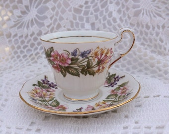 Paragon Country Lane Teacup and Saucer