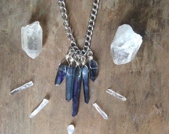 Goddess Crystal Quartz Necklace