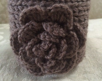 Knit Headband, Knit Ear Warmer, Headband, Taupe Ear Warmer