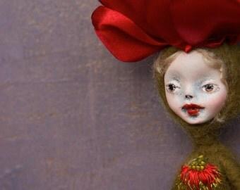 Leah. OOAK doll.