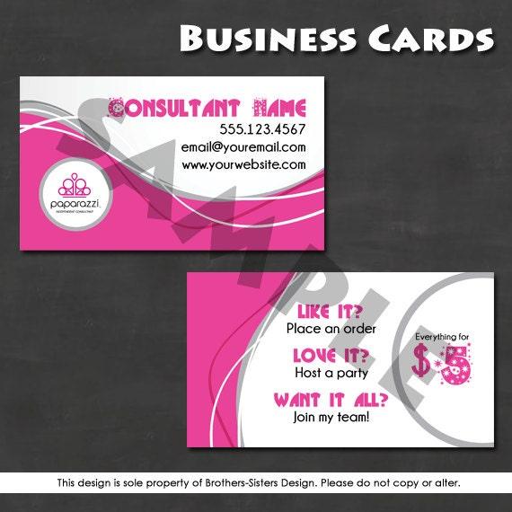 Paparazzi Jewelry Business Card Digital by