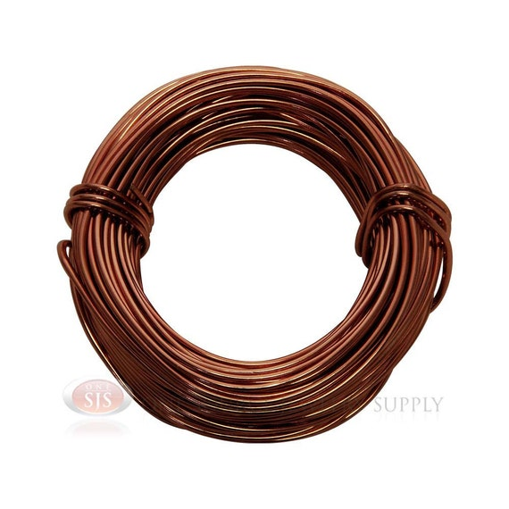 18 gauge rose gold aluminum craft wire 39 feet 11 8 meters for
