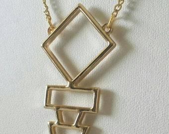 Geo arrow necklace