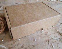 4 Pcs Delicate Cardboard Boxes, 5.9''x4.13''x1.57'', Packaging, Scrapbooking, Favor Gift Packaging, Gift Boxes, Recycled Materials