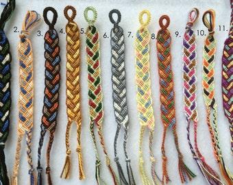 Braid-Inspired Friendship Bracelet