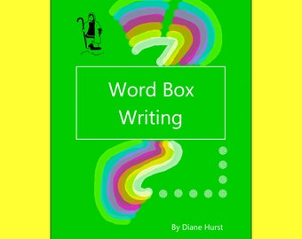 printable creative writing work pages -- unique format for creative writing -- topical writing -- writing activity for children