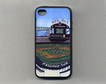 Cell Phone Case-Chicago Baseball-US Cellular Field N- Sports Team Stadium -Cases for iPhones 4/4s, 5/5s, 6 & 6plus, Samsung S4, S5