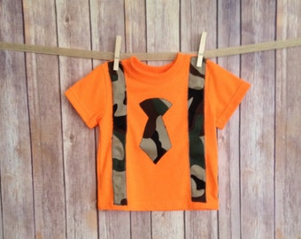 Redneck Baby Shirt Orange Camo Shirt Childrens Camo
