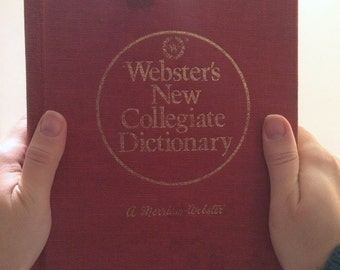 Old Red Webster's Dictionary