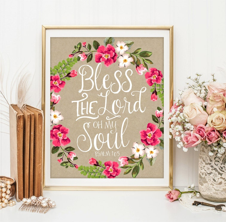 Wall Decor With Bible Verses : Bible verse art scripture wall decor by littleemmasprints