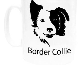 I Love My Dog Coffee Mug - Border Collie
