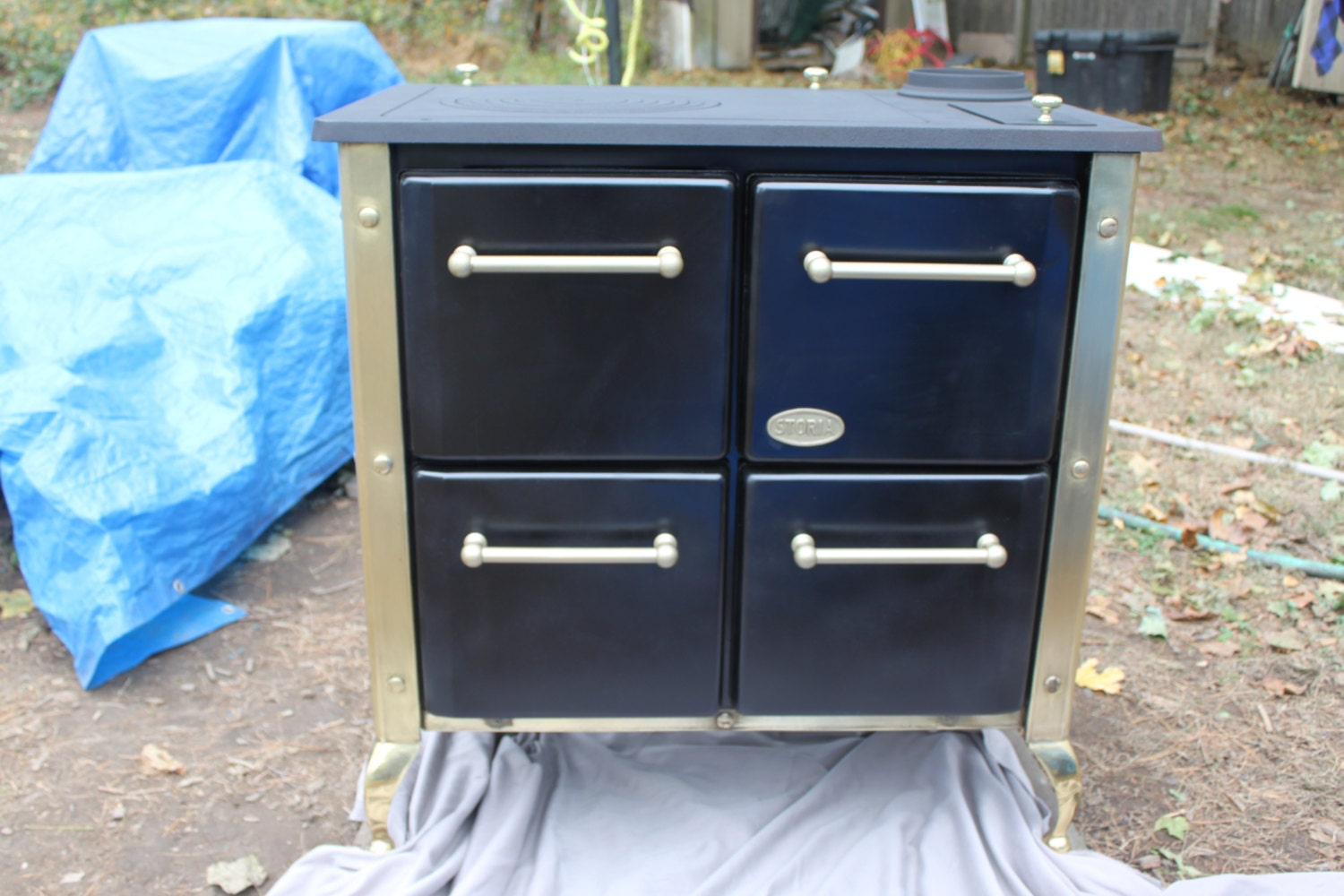 storia italian coal cook stove bake oven by specialwoodcoalstove. Black Bedroom Furniture Sets. Home Design Ideas