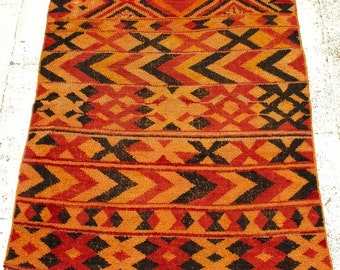 1980's Vintage Moroccan Berber Rug - Saharaoui - 135 x 180cm