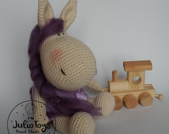 Irati crochet pony - PDF patten