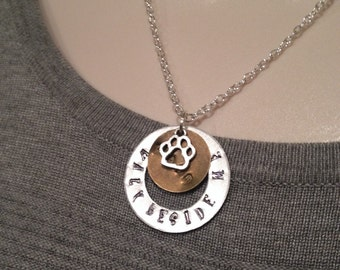 Walk Beside Me Necklace