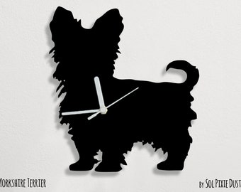 Yorkshire Terrier Dog - Wall Clock