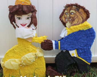 Princess Belle pinata, Beauty and the Beast pinata