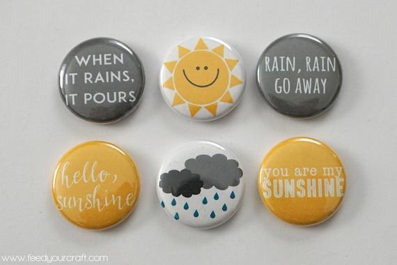 Insignes de Flair Mini Sun & de pluie