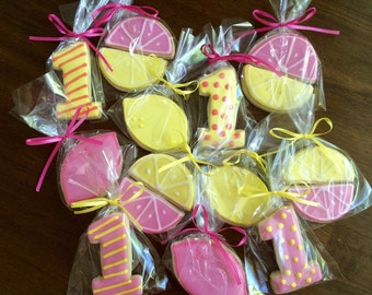 Lemonade Party Cookies - perfect party cookies!