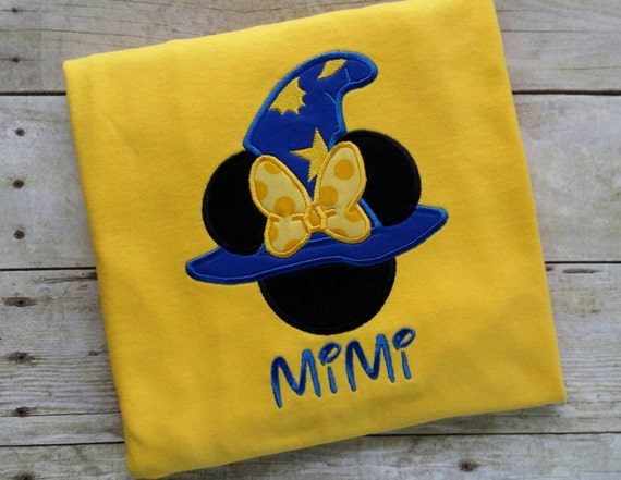 minnie mouse wizard hat t shirt infant toddler girls
