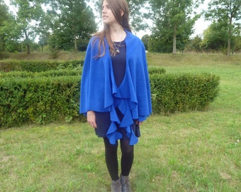 "Cape ""Mari'ni'posa"" royal blue"