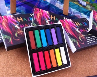 Be Complete ~ HAIR CHALK 12 Colour Pack