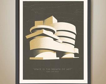 Guggenheim - Frank Lloyd Wright quotes