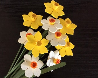 Daffodils and Narcissus, Spring Bouquet, brighten up your home, and enjoy some Easter/Spring colour
