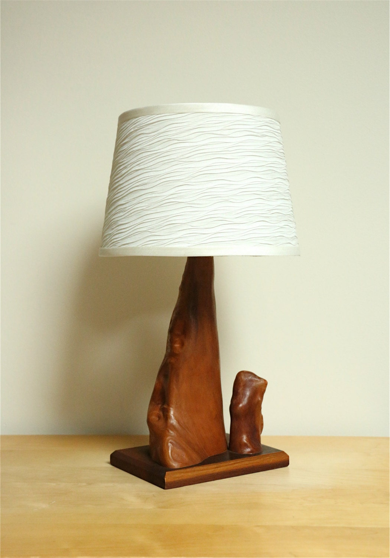 Vintage Cypress Knee Table Lamp Mcm Modernist Ooak