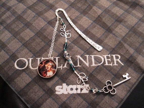 Silver Outlander Wedding Bookmark Inspired By Starz's adaptation of Outlander