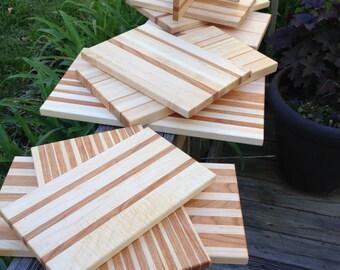 Maple and Cherry Cutting Board - Medium