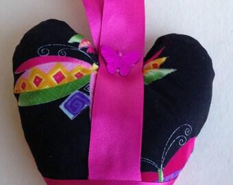 Fabric Hanging Heart