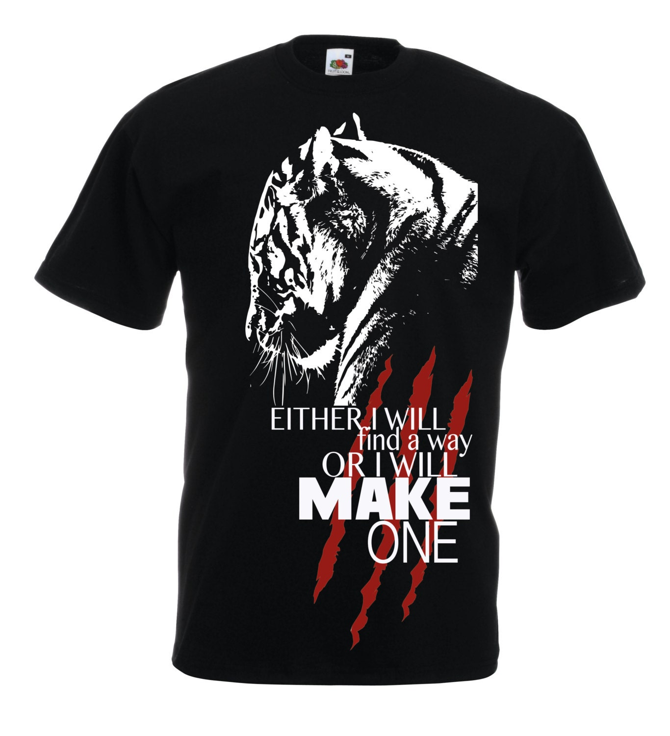 Black t shirt quotes -  Zoom