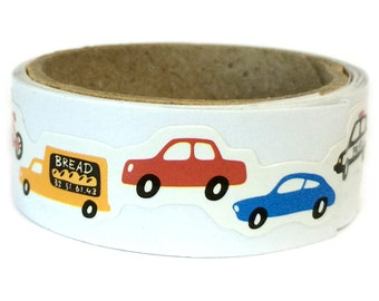 Paper Sticker Tape Cars SM202831