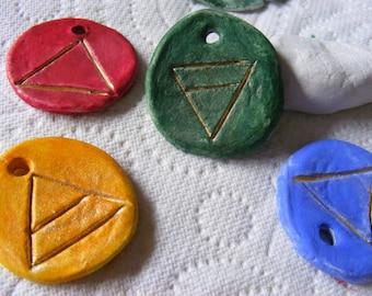 Elemental spell charm fae ritual talisman