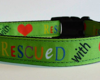 Rescued with Love Collar