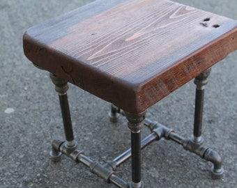 Wood Drafting Stool