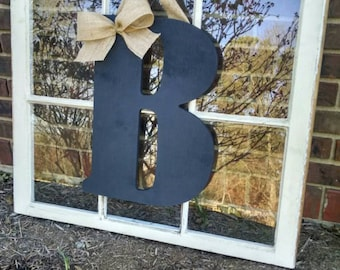 "Jumbo 18"" Door Hanging Letter (ANY LETTER)"